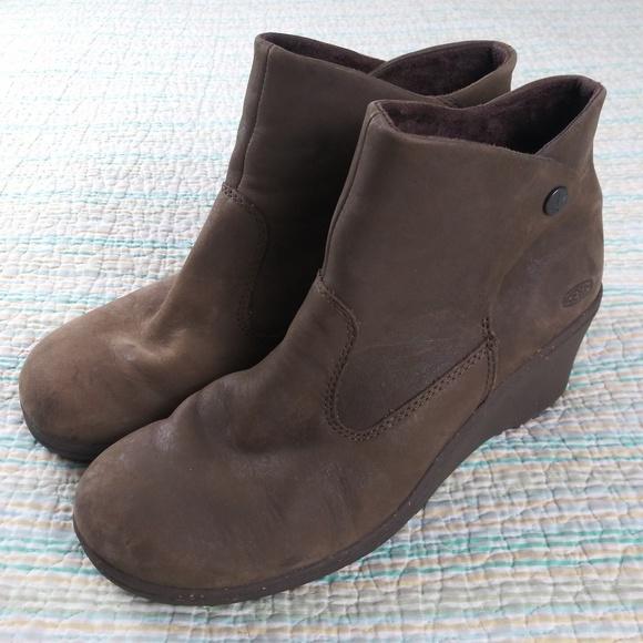 Keen Akita 5 Brown Nubuck Leather Ankle